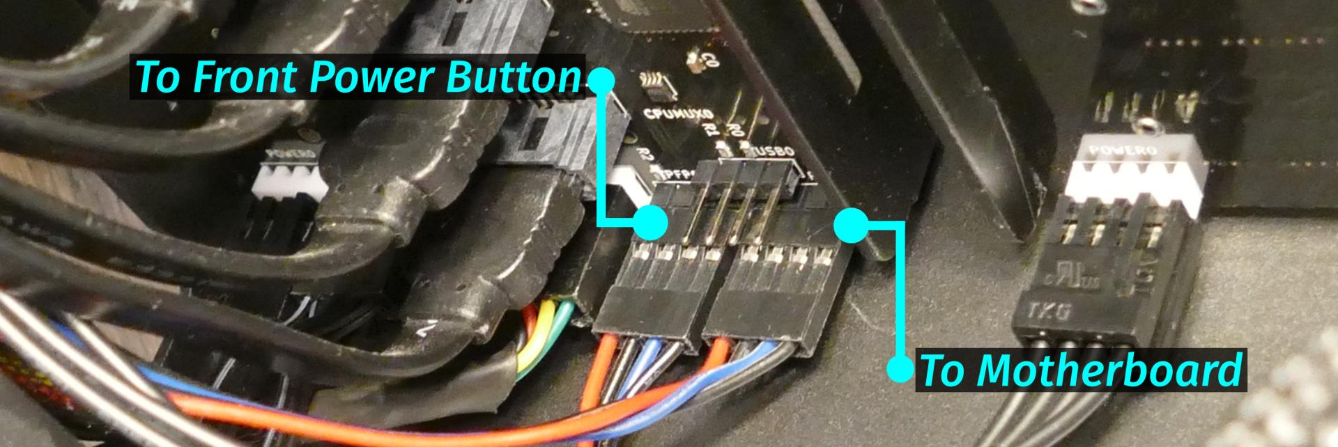 Power button wiring on Thelio-IO board