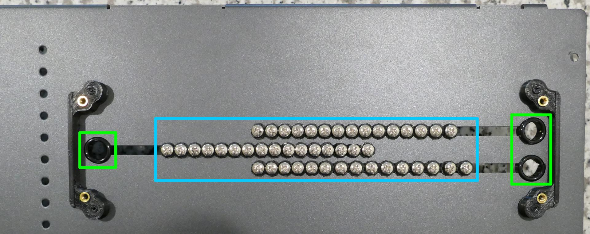 Storage drive screws